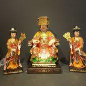 Tượng Thiên Hậu và hai cung nữ
