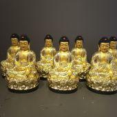 Bộ tượng Bảy Vị Dược Sư Lưu ly Quang Vương Phật