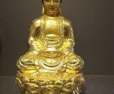 Tượng Thích Ca Phật ngồi đài sen