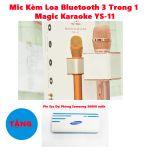 Mic Kèm Loa Bluetooth 3 Trong 1 Magic Karaoke YS-11 tặng xạc dự phòng Samsung