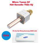 Micro Tuxun Q7 Hát Karaoke Thần Kỳ tặng xạc dự phòng SamSung