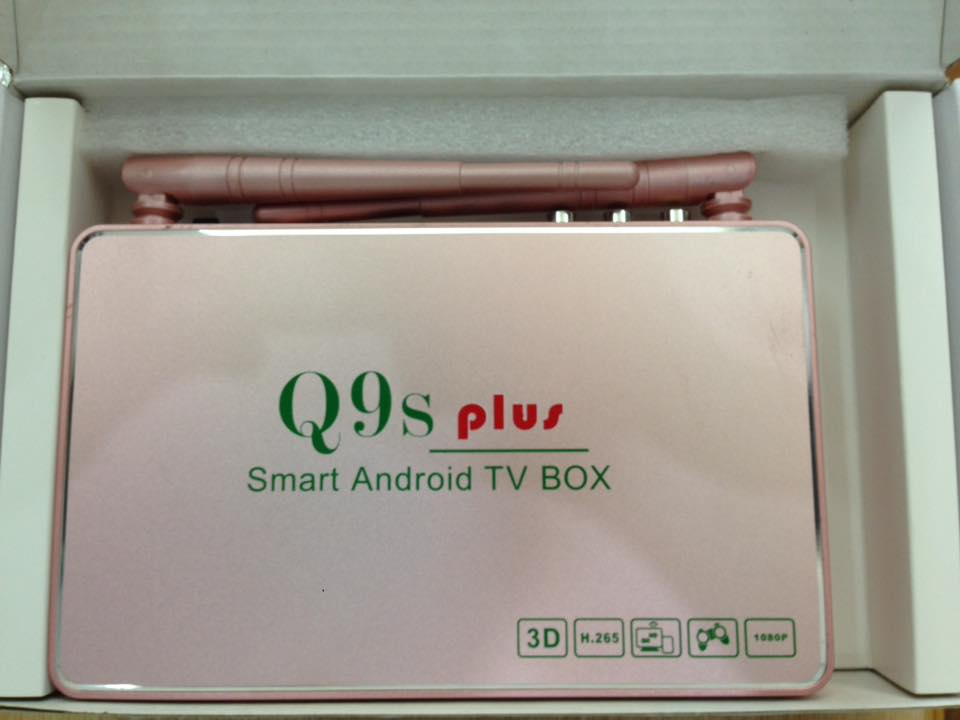 ANDROID TV BOX Q9S PLUS