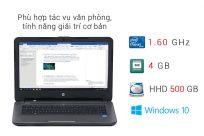 Laptop hp 14 am065tu N3710 Ram 4G hdd 500gb chất lượng số một