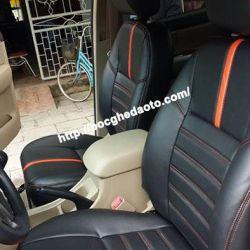 Bọc nệm ghế da xe Toyota Hilux