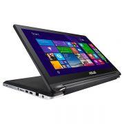 "ASUS TP550LA-CJ090H ( Đen, võ nhôm) - I3(4030U)/ 4GB/ 500GB/ 15.6""/ Win 8/ Touch"