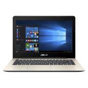 "ASUS A456UA-WX034T( Gold, võ nhôm) – I5(6200U)/ 4GB/ 500GB/ DVDRW/ 14""/ Win 10"