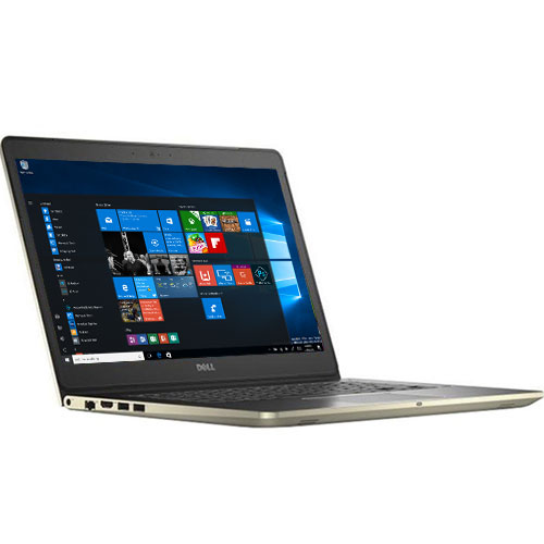 "DELL VOSTRO  V5568-077M52 ( Nhôm, Gold) – I5(7200U)/ 4G/ 1TB/ VGA GT940 2Gb/ No DVD/ 15.6""/ Led Key/  Win 10"