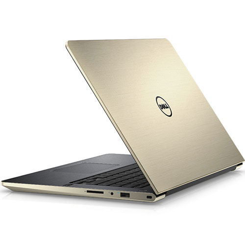 "DELL VOSTRO  V5468A - ( Nhôm, Gold) – I5(7200U)/ 4G/ 1TB/ VGA GT940 2Gb/ No DVD/ 14.1""/Led Key/Win 10"