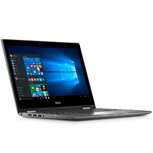 "DELL INSPIRON 13 T5378-C3TI7010W( Grey)  – I7(7500U)/ 8G/ 1TB/ No DVD/ 13.3"" Flip/ Led Key/ Touch / Win 10 + office 365"