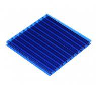 Tấm lợp lấy sáng thông minh polycarbonate xanh dương rỗng ruột (blue)