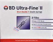 Ống tiêm Insulin cho người bệnh tiểu đường BD Ultra-Fine II SP020601