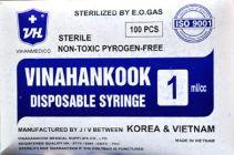Ống tiêm Vinahankook Disposable Syringe SP020604
