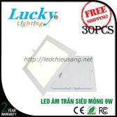 Đèn LED downlight âm trần 9W vuông siêu mỏng