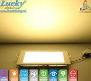 LED downlight âm trần 4w vuông siêu mỏng