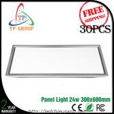 Đèn LED downlight tấm panel  24W 300*600mm