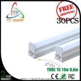 LED TUBE T5, 60cm, 8W Nhôm & Nhựa