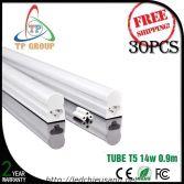 LED Tube T5, 90cm, 14W , Nhôm & Nhựa liền máng