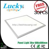 Đèn LED downlight tấm panel 36W 600x600mm