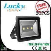 Đèn LED Pha 150W vỏ nhôm