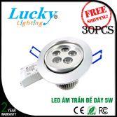 Đèn LED downlight đế dày 5W
