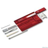 Dụng cụ đa năng Victorinox SwissCard Quattro màu đỏ, 0.7200.T