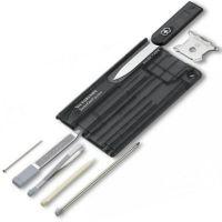 Bộ dụng cụ đa năng Victorinox Swisscard Quattro màu đen, 0.7233.T3