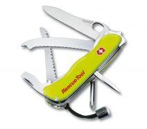 Dụng cụ xếp đa năng hiệu Victorinox Rescue Tool màu vàng dạ quang, 0.8623.MWN