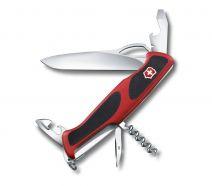 Dụng cụ xếp đa năng hiệu  Victorinox RangerGrip 61 màu đỏ đen, 0.9553.MC