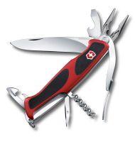 Dụng cụ xếp đa năng hiệu Victorinox Rangergrip 74 màu đỏ đen, 0.9723.C
