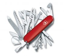 Dụng cụ xếp đa năng hiệu Victorinox SwissChamp màu đỏ, 1.6795