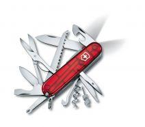 Dụng cụ xếp đa năng hiệu Victorinox Huntsman Lite màu đỏ, 1.7915.T