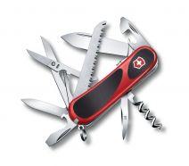 Dụng cụ xếp đa năng hiệu Victorinox EvoGrip S17 màu đỏ đen, 2.3913.SC