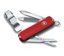 Dụng cụ xếp đa năng hiệu Victorinox Nail Clip 580 màu đỏ, 0.6463