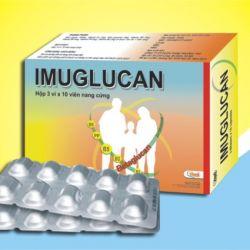 IMUGLUCAN – Tăng cường sức đề kháng, hỗ trợ miễn dịch, nhiễm khuẩn, bổ sung vitamin