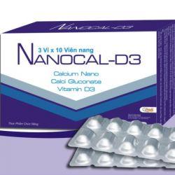 NANOCAL-D3 – Bổ sung Canxi nano cho phụ nữ có thai, người già, trẻ em