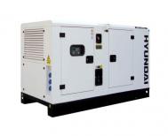 Máy phát điện diesel 3 pha vỏ chống ồn đồng bộ HYUNDAI DHY-34KSE