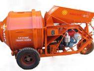 Máy trộn 1 bao nâng máy tự hành 250 lít