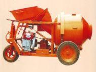 Máy trộn bê tông nâng máy tự hành 350L