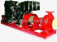 Bơm cứu hỏa động cơ Diesel - Ebara - FSA