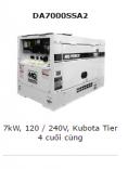 Máy phát điện Multiquip DA7000SSA2