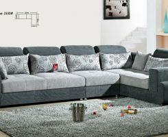 Sofa góc cổ điển phong cách cho ngôi nhà xinh