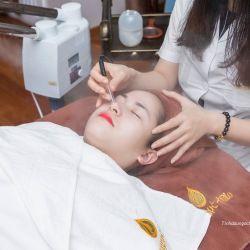Massage Chăm Sóc Thải Độc Tố Cho Da Mặt Trắng Sáng