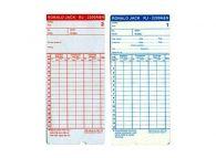 Thẻ chấm công giấy Ronald Jack RJ-2200A&N