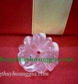 Hoa Mẫu Đơn Thạch Anh Tím MSP:559