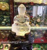 Phật Adiđa Thạch Anh Trắng MSP: POT