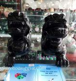 Tỳ Hưu Thạch Anh Đen 25 cm  MSP: THĐ25