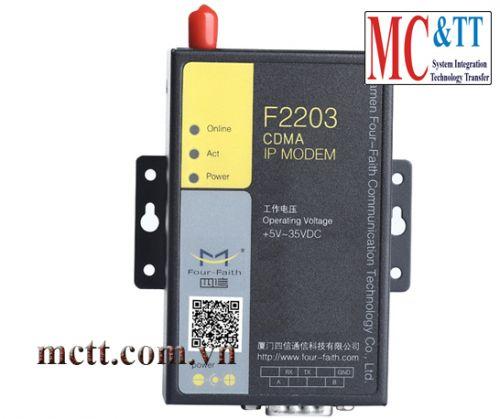F2203 CDMA IP Modem