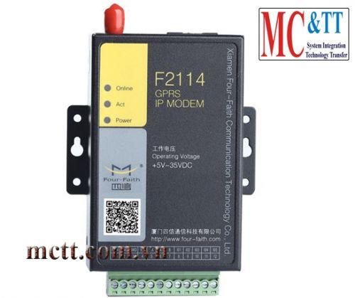 F2114 GPRS IP MODEM (DTU)