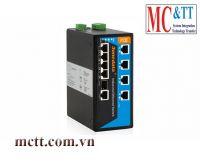 Switch công nghiệp quản lý 8 cổng PoE Ethernet 1 cổng Combo SFP 3Onedata IPS719-1GC-8POE