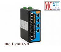 Switch công nghiệp quản lý 4 cổng Ethernet + 4 cổng PoE Ethernet+ 2 cổng Combo SFP 3Onedata IPS7110-2GC-4POE